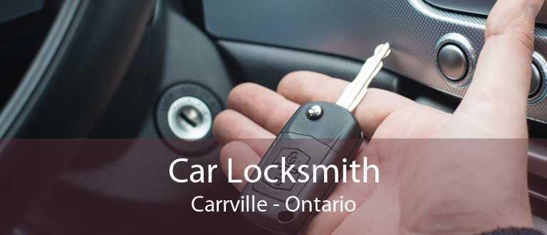 Car Locksmith Carrville - Ontario