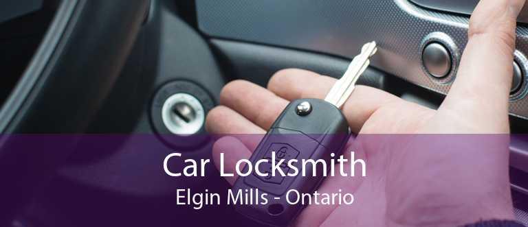 Car Locksmith Elgin Mills - Ontario