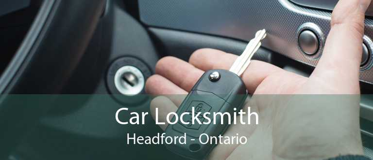 Car Locksmith Headford - Ontario