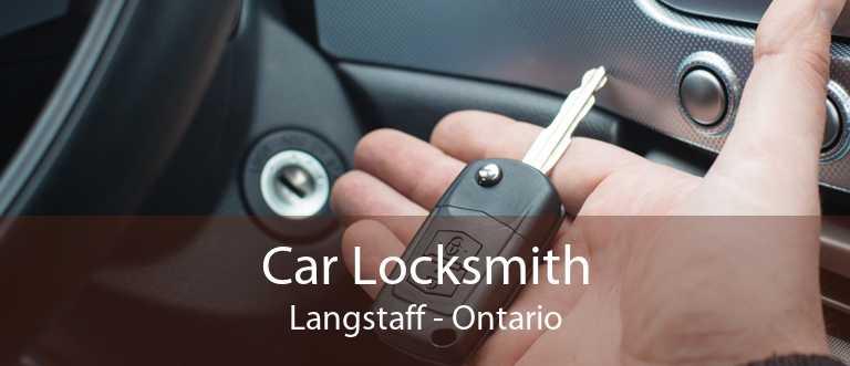 Car Locksmith Langstaff - Ontario