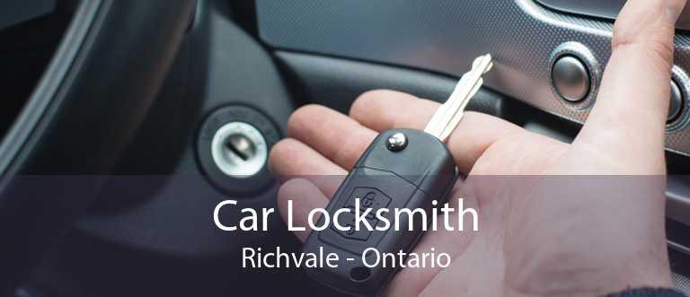Car Locksmith Richvale - Ontario