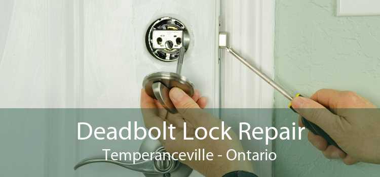 Deadbolt Lock Repair Temperanceville - Ontario