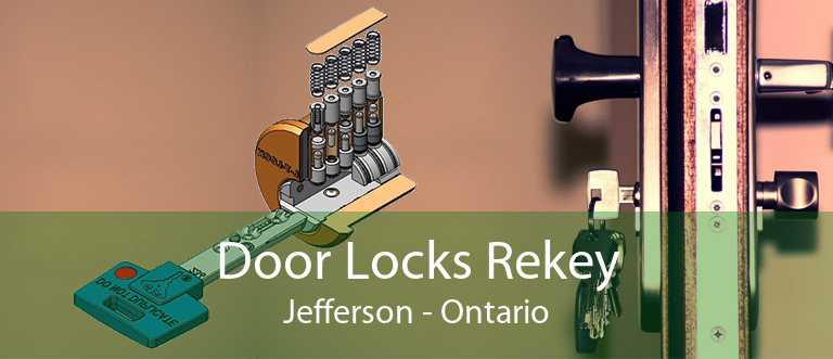 Door Locks Rekey Jefferson - Ontario