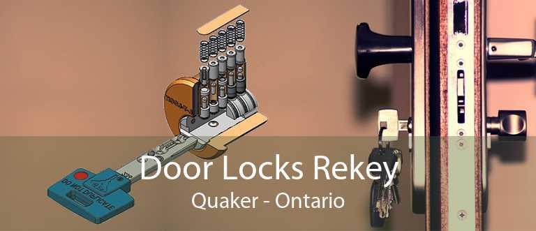Door Locks Rekey Quaker - Ontario