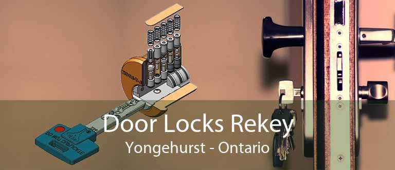 Door Locks Rekey Yongehurst - Ontario