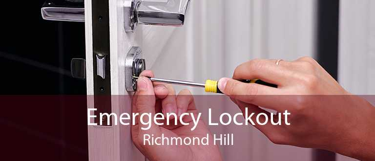Emergency Lockout Richmond Hill