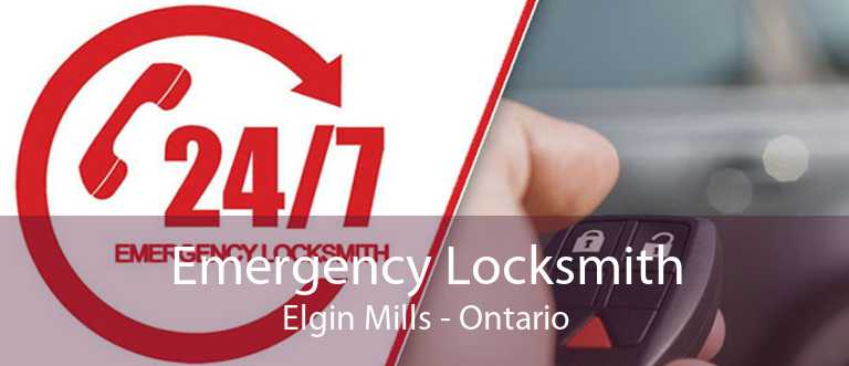 Emergency Locksmith Elgin Mills - Ontario