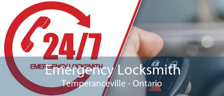 Emergency Locksmith Temperanceville - Ontario
