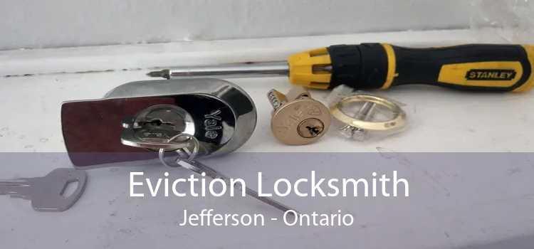 Eviction Locksmith Jefferson - Ontario
