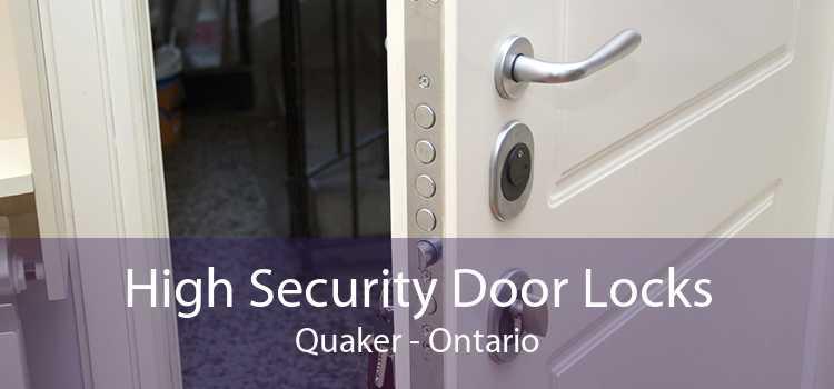 High Security Door Locks Quaker - Ontario