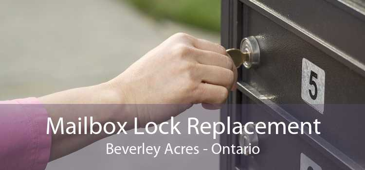 Mailbox Lock Replacement Beverley Acres - Ontario