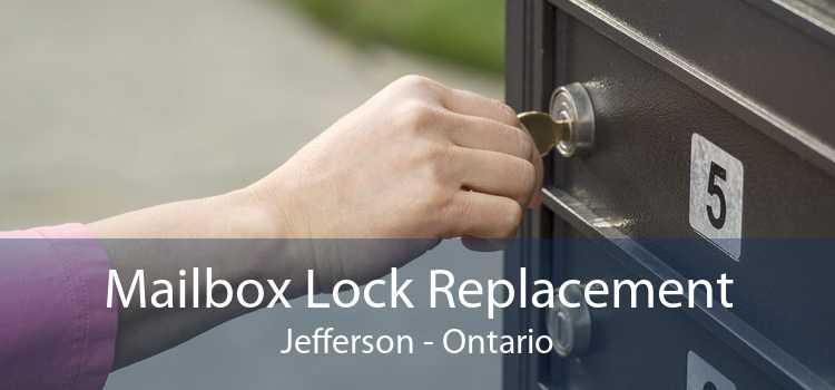 Mailbox Lock Replacement Jefferson - Ontario