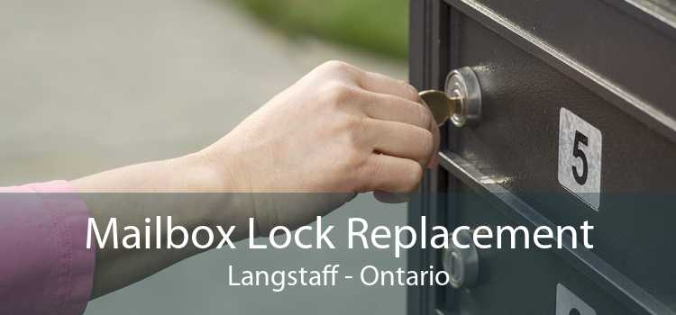 Mailbox Lock Replacement Langstaff - Ontario