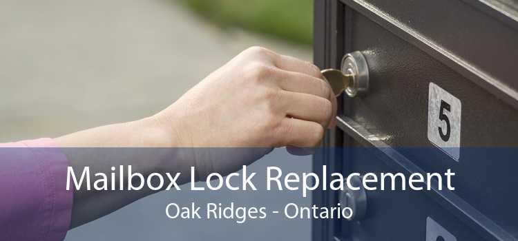 Mailbox Lock Replacement Oak Ridges - Ontario