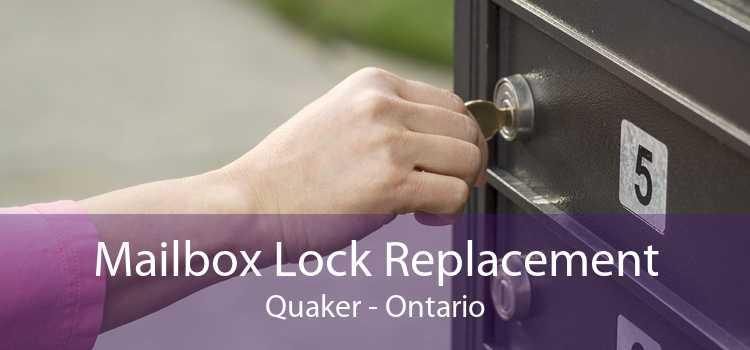 Mailbox Lock Replacement Quaker - Ontario