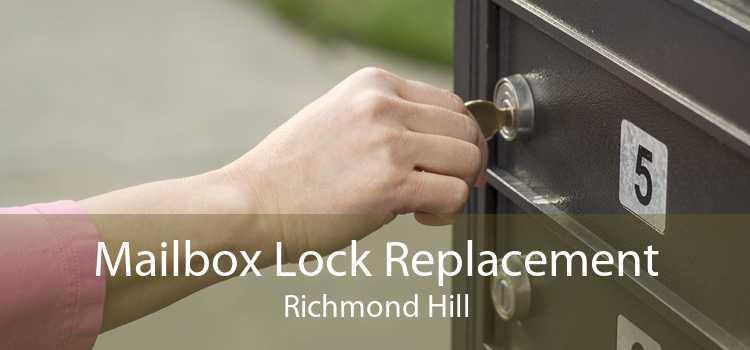 Mailbox Lock Replacement Richmond Hill