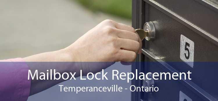 Mailbox Lock Replacement Temperanceville - Ontario