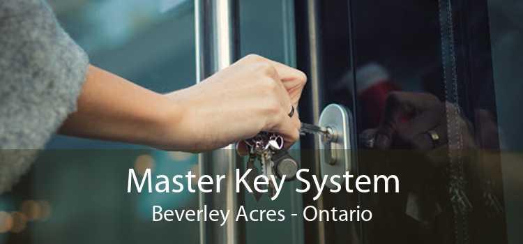 Master Key System Beverley Acres - Ontario