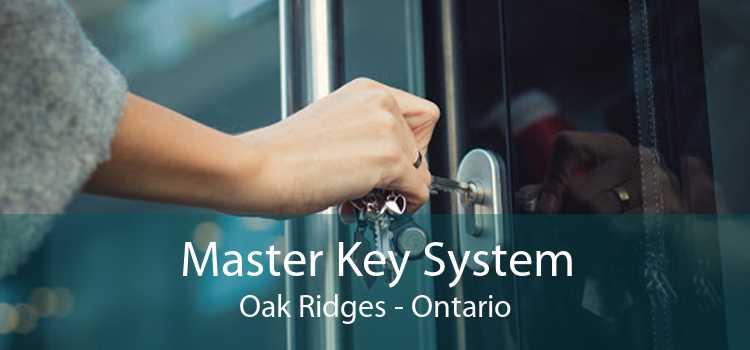 Master Key System Oak Ridges - Ontario