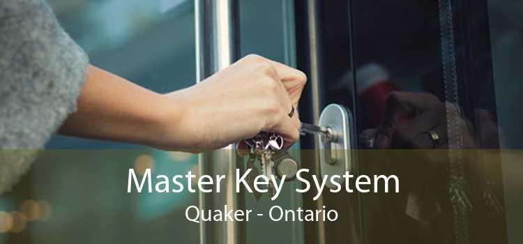 Master Key System Quaker - Ontario