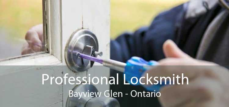 Professional Locksmith Bayview Glen - Ontario
