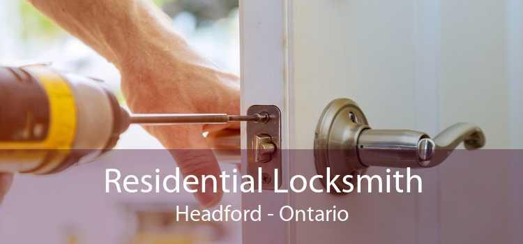 Residential Locksmith Headford - Ontario