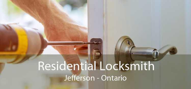 Residential Locksmith Jefferson - Ontario