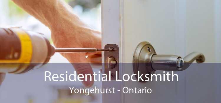 Residential Locksmith Yongehurst - Ontario