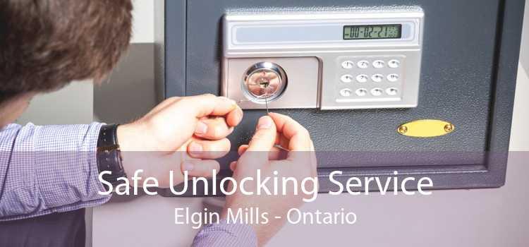 Safe Unlocking Service Elgin Mills - Ontario