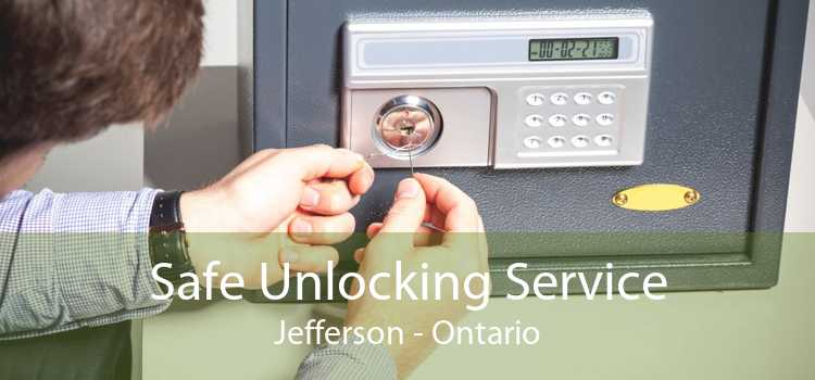 Safe Unlocking Service Jefferson - Ontario
