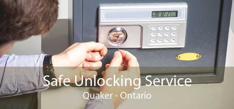 Safe Unlocking Service Quaker - Ontario
