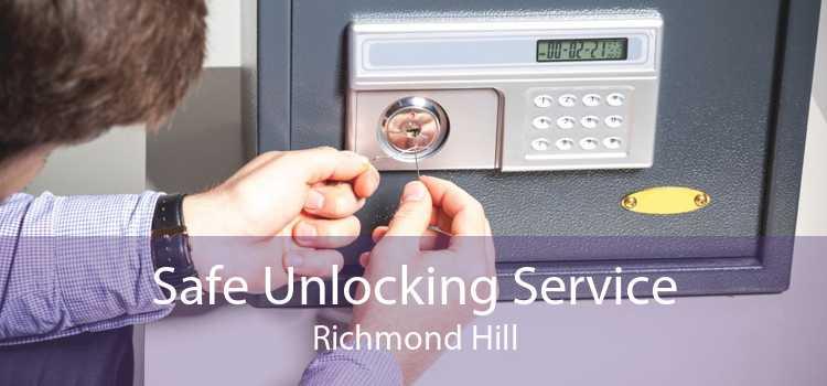 Safe Unlocking Service Richmond Hill